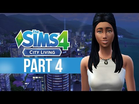 Let's Play: The Sims 4 City Living - Part 4 - [Spicy Karaoke]