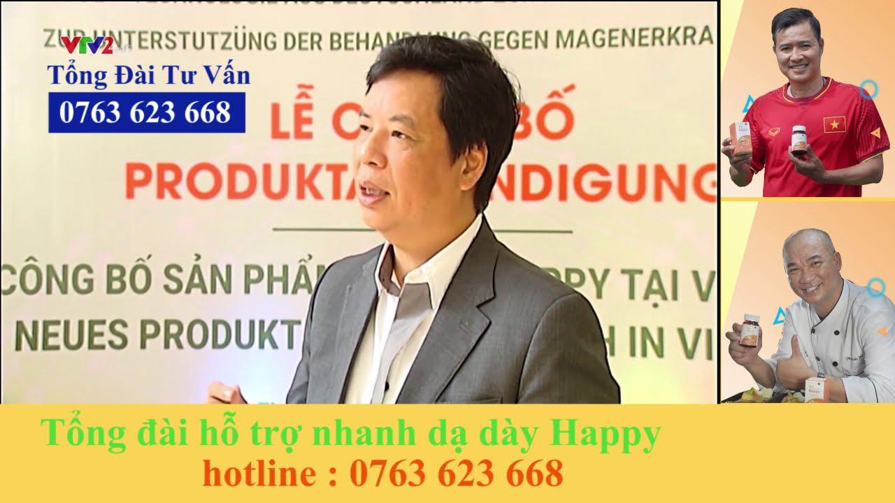 DẠ DÀY HAPPY| Đột Phá Công Nghệ Novasol Từ CHLB Đức Hỗ Trợ Điều Trị Dạ Dày | HOTLINE: 0763 623 668