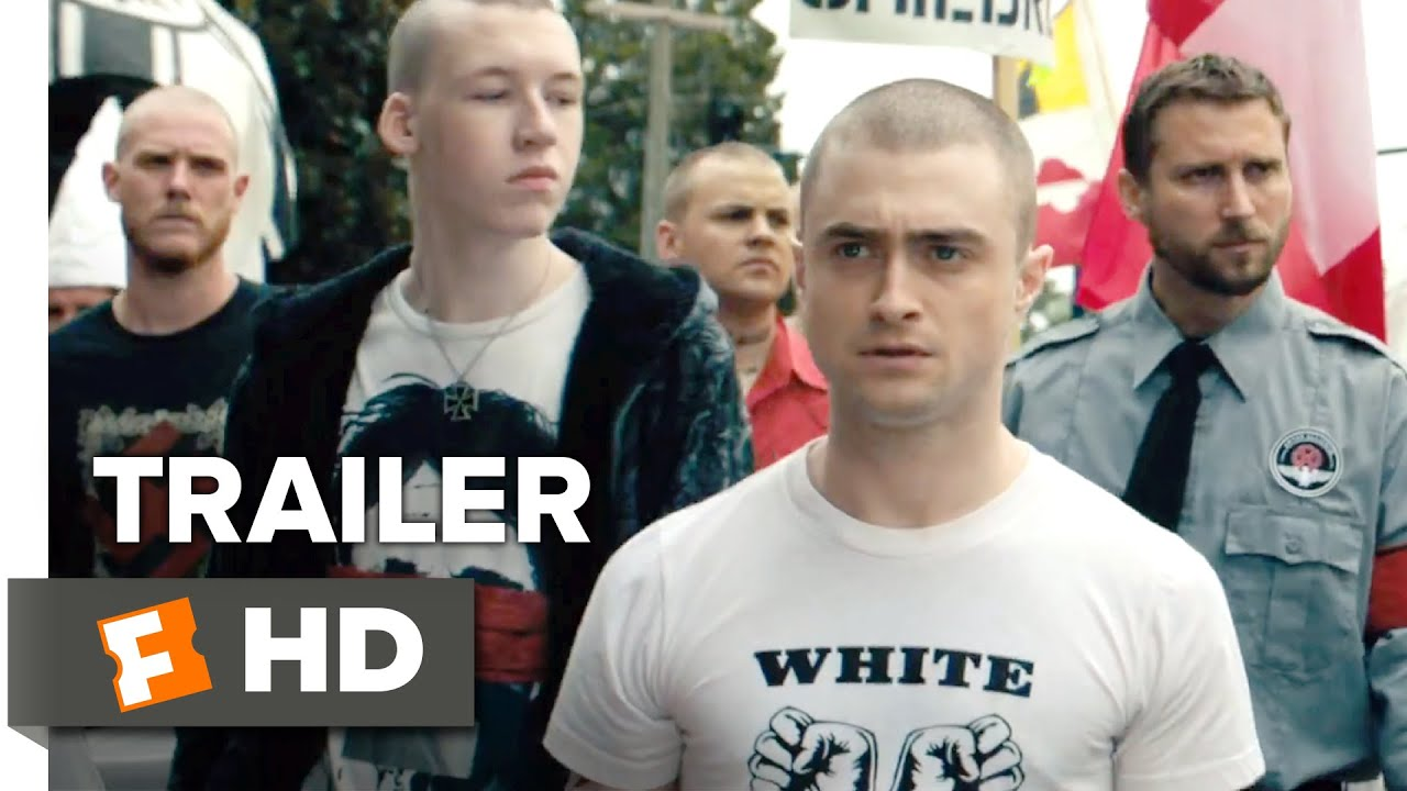 Filme Skinhead throughout imperium official trailer 1 (2016) - daniel radcliffe movie - youtube