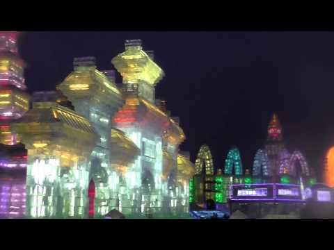 The Massive and Magnificent Harbin, China Ice Festival