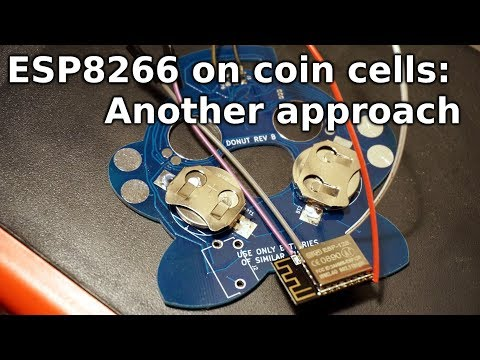 Aggressively Low Power with the ESP8266