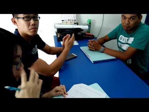 Interview-kampung valdor-police station