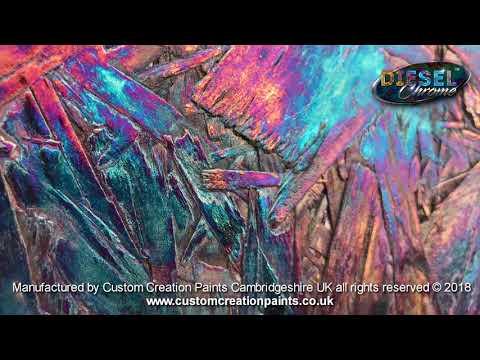 Spray On Chrome | Chrome Paint UK | Custom Paint | Heat