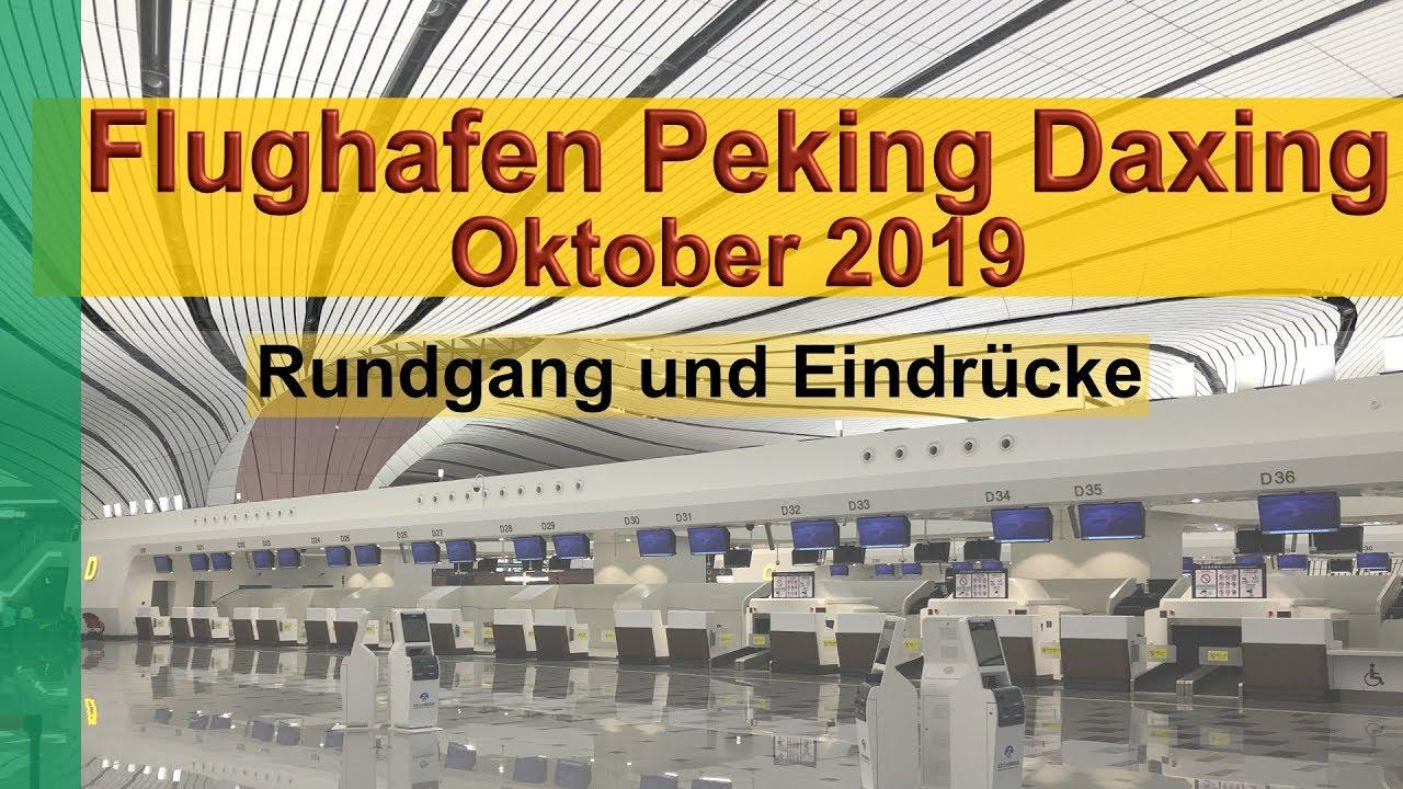 Download Peking Daxing neuer Flughafen PKX zur Eröffnung im Oktober 2019 (Airport Beijing Daxing)