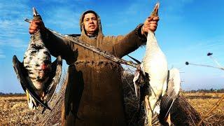 ВЕСЕННЯЯ ОХОТА НА ГУСЯ 2019. охота в пойме малой реки