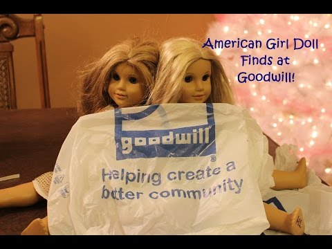 My American Girl Doll Finds at Goodwill!