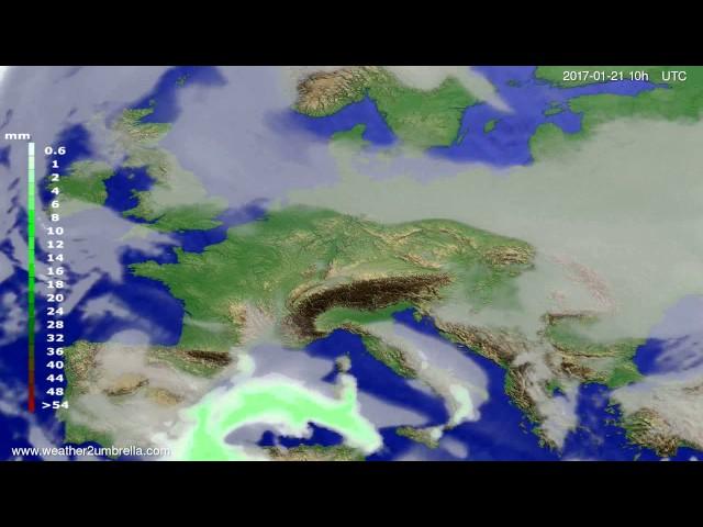 <h2><a href='http://webtv.eklogika.gr/precipitation-forecast-europe-2017-01-19' target='_blank' title='Precipitation forecast Europe 2017-01-19'>Precipitation forecast Europe 2017-01-19</a></h2>