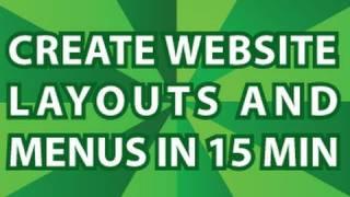 Create A Website Menubar