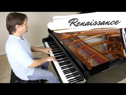 Renaissance - David Hicken - The Art Of Piano - Music Video - Amazing Piano Solo