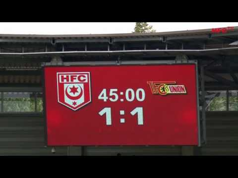 Spielbericht: Hallescher FC - 1. FC Union Berlin