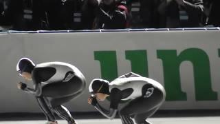 女子500m小平奈緒選手がまた優勝。ワールドカップスピードスケート苫小牧大会、2018年11月23日。 小平奈緒 検索動画 9