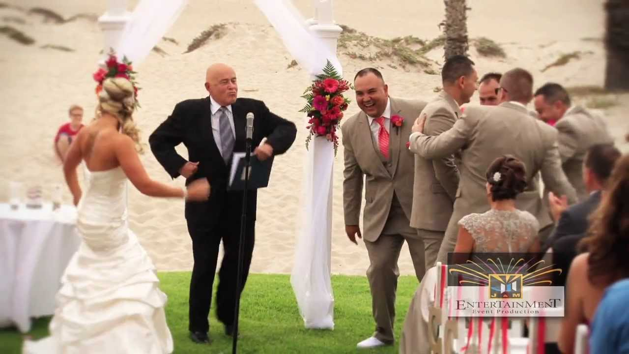 Beach Wedding at Embassy Suites Mandalay Beach - YouTube