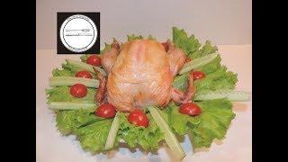 Курица на соли Простейшей рецепт приготовления / Chicken on salt The simplest recipe to make chicken