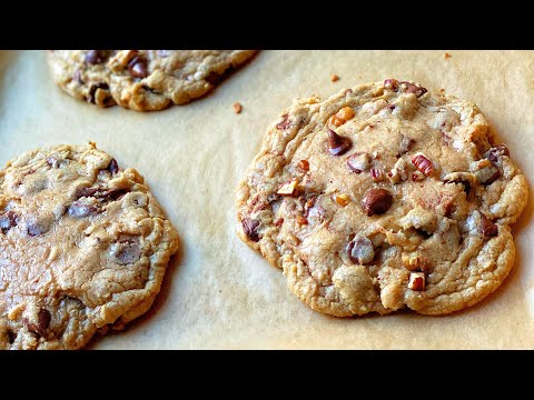 Brown Butter Pecan Chocolate Chip Cookies