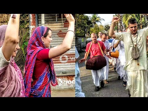 KIRTAN & DANCE OF FOREIGNERS IN MAYAPUR || FOREIGNERS IN MAYAPUR ||