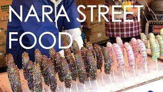 Just Food in 4K - Street Food @ Nara Japan
