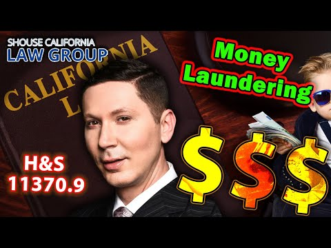 "How drug dealers get busted for ""money laundering"" (Health & Safety Code 11370.9)"
