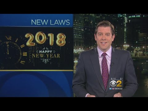 New Illinois Laws That Take Effect In 2018