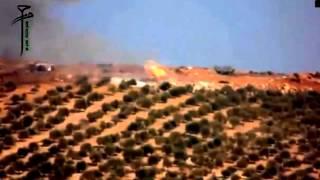 Сирия. Боевики жгут танки сирийской армии