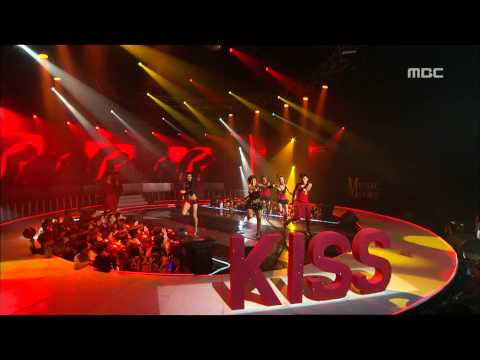 JYPark - Kiss(with Yubin), 박진영 - 키스(with 유빈), Music Core 20071124