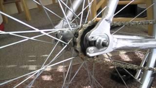 как сделать простой дорожный электро велосипед(кит покупался тут - http://www.electric-bike-kit.com/hill-topper.aspx производитель мотора - 8fun и вообще все на самом деле можно..., 2013-12-04T08:48:19.000Z)