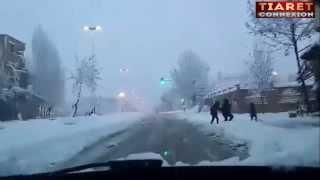 تيارت تحت الثلج بتاريخ 23/01/2015