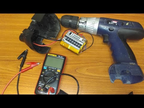 Тест плат BMS для переделки 18В шуруповертов с Ni Cd на Li Ion аккумуляторы Часть 2