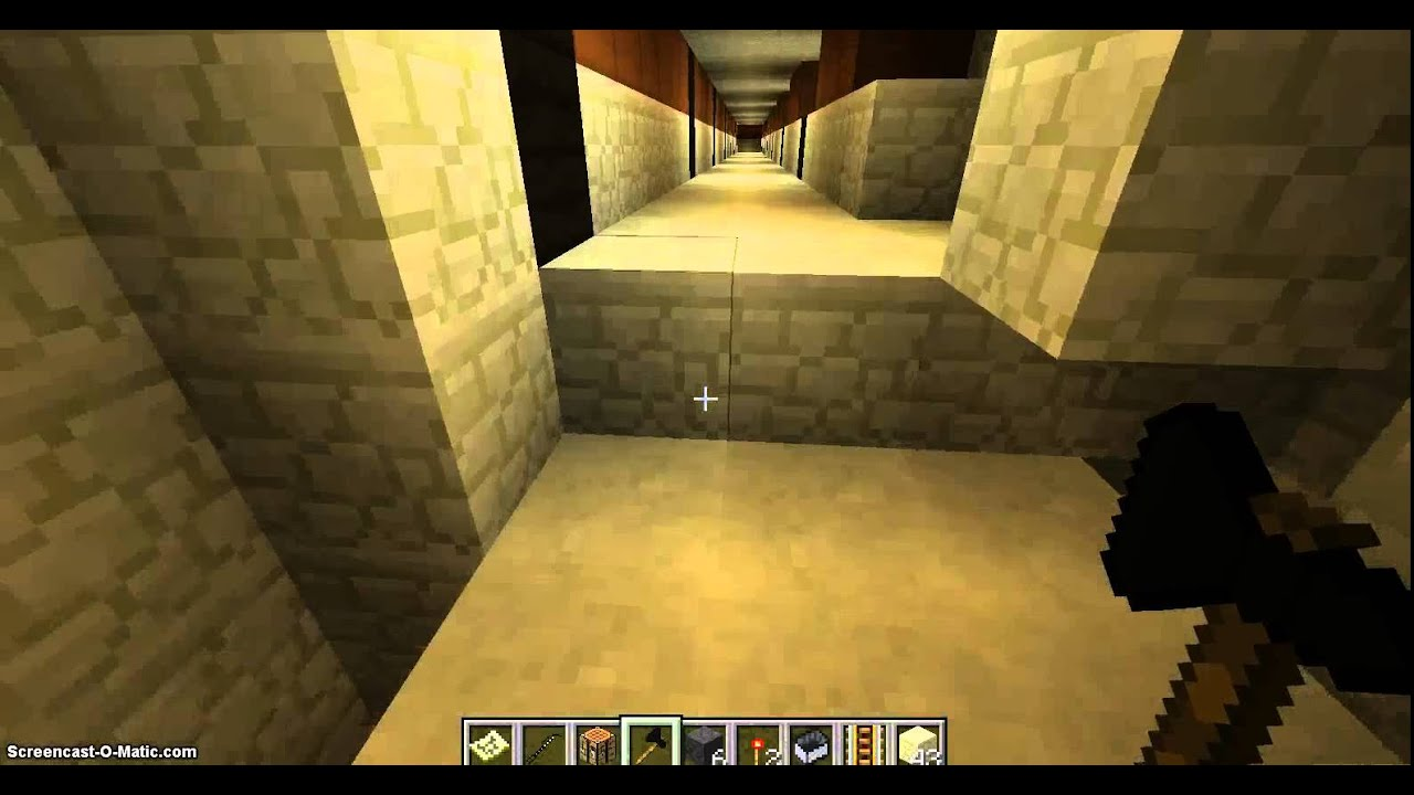 kmpawesome Minecraft 045 Pyramid Trap Blowing - YouTube