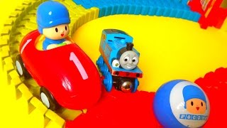 Pocoyo and Thomas The Track