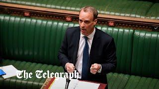 video: Politics latest news: Joe Biden 'wrong' on Northern Ireland protocol, says minister