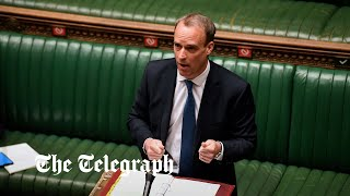 video: Politics latest news: Joe Biden 'wrong' on Northern Ireland protocol, says minister - watch PMQs live