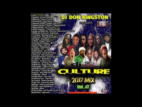 Dj Don Kingston Culture Mix 2017 Vol 47