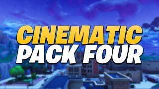 FORTNITE BATTLE ROYALE CINEMATIC PACK #4 | 1080P 60FPS