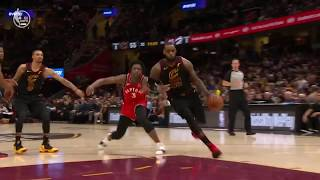 LeBron James hits crazy buzzer beater to go 3-0 against raptors!! Lebron's full game Highlights
