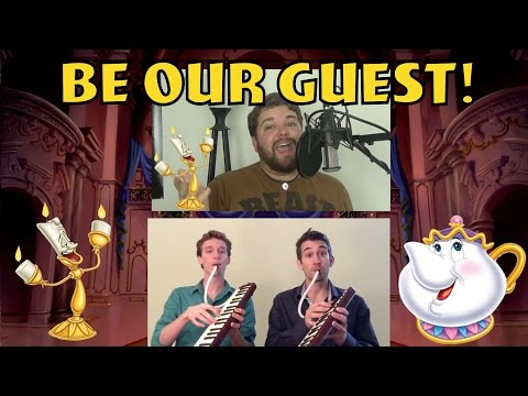 Be Our Guest  Ft The Melodica Men