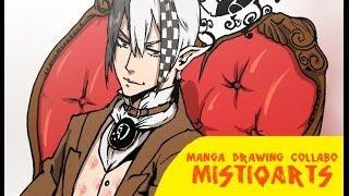 Sketching and Inking Character: Mistiqarts Art Collaboration