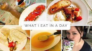 2. What I Eat in a Day - Mediterranean Diet - Cookbook Review