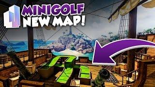A MINIGOLF NEW MAP!!