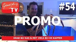 Promo KRAB BIJ KAS & MET IMCA BIJ DE KAPPER - Gerard Joling #VLOG54