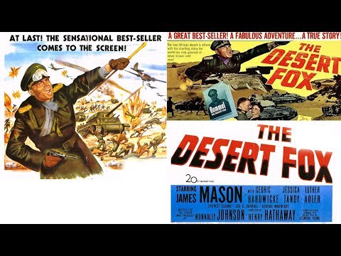 Desert Fox Trailer 1951 Rommel movie starring James Mason