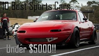 10 Best Sports Cars Under $5000!!