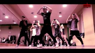 chris brown turn up the music choreography tran duc anh