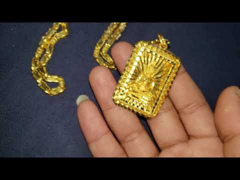 24kt Gold Necklaces & Buddha Pendants Khmer Asian GOLD Jewelry Review