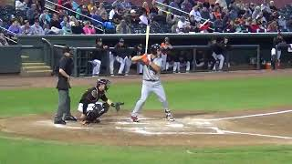 Jacob Gonzalez (May 4-5, 2018) vs. Delmarva (Salisbury, MD)