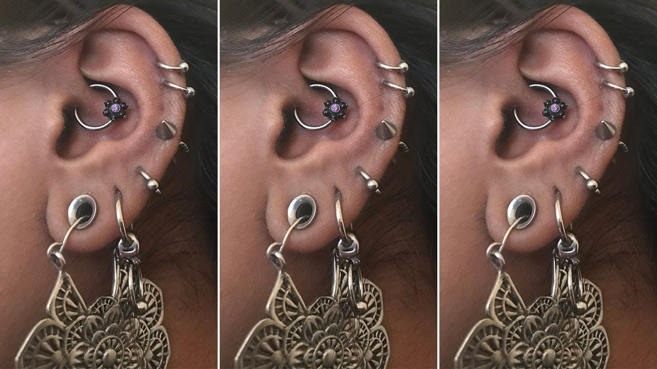 Daith Piercing Update Daith Piercing Healing Aftercare Daith