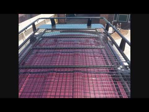 Tigerz11 roof rack cage install - YouTube