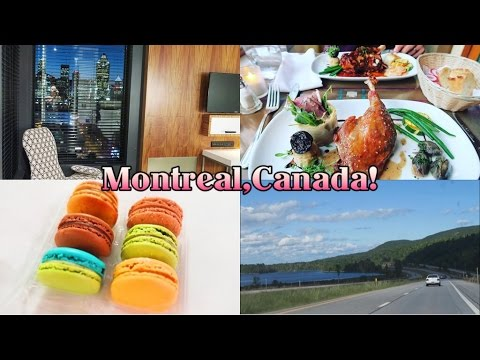 Vlog: Montreal,Canada Day 1