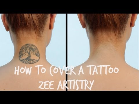 How To: Tattoo Cover | Zee Artistry - YouTube