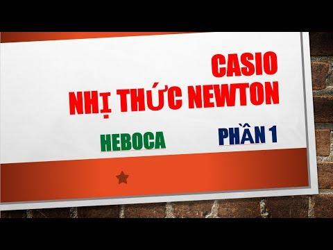 [CASIO] [TRẮC NGHIỆM] - NHỊ THỨC NEWTON (phần 1)| DÙNG MÁY TÍNH CASIO ĐỂ TÌM HỆ SỐ - HEBOCA