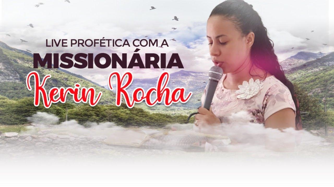🔴É MUITO FORTE O QUE DEUS MANDOU EU TE ENTREGAR - LIVE PROFÉTICA COM A MISSIONARIA KERIN